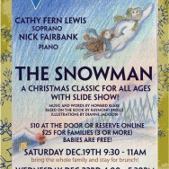 The Snowman, a telling by Cathy Fern Lewis
